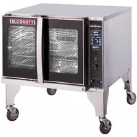 Blodgett HVH-100G-NAT Natural Gas Single Deck Additional Unit Full Size Hydrovection Oven with Helix Technology - 60,000 BTU