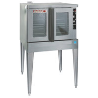 Blodgett ZEPHAIRE-100-E-240/1 Single Deck Full Size Standard Depth Roll-In Electric Convection Oven - 240V, 1 Phase, 11 kW