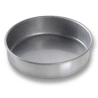 Chicago Metallic 46150 6 inch x 1 1/2 inch Aluminized Steel Round Cake Pan