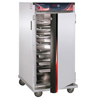 Cres Cor H-137-UA-9D Insulated Aluminum Hot Holding Cabinet with Solid Door - 120V, 1500W