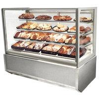 Federal Industries ITD6034-B18 Italian Series 60 inch Dry Bakery Display Case - 26 cu. ft.