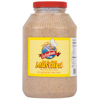 Woeber's 1 Gallon Hot & Spicy Mustard - 4/Case