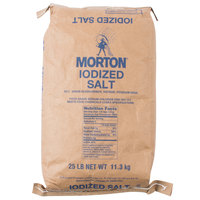Morton 25 lb. Bulk Iodized Table Salt