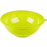 Fineline 5160-GRN Super Bowl 160 oz. Green PET Plastic Salad Bowl - 25/Case