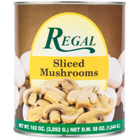 Regal Foods Sliced Mushrooms - #10 Can   - 6/Case