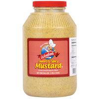 Woeber's 1 Gallon Sweet & Spicy Mustard - 4/Case