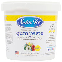 Satin Ice 10697 2 lb. Yellow Gum Paste