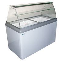 Excellence HBD-4 Ice Cream Dipping Cabinet - 6.4 cu. ft.