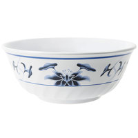 GET M-607-B Water Lily 32 oz. Fluted Melamine Bowl - 12/Pack