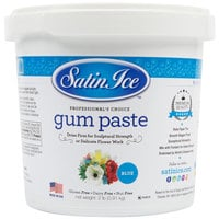 Satin Ice 10699 2 lb. Blue Gum Paste