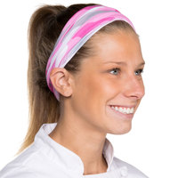 Headsweats Pink Camo Full Ultra Band Headband