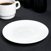 Arcoroc L2437 Intensity 6 1/4 inch Stackable Saucer by Arc Cardinal - 36/Case