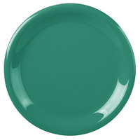 Carlisle 3300409 Sierrus 9 inch Meadow Green Narrow Rim Melamine Plate - 24/Case