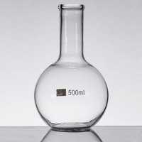 Libbey 56812 Chemistry Bar 17 oz. (500 mL) Round Flask Glass   - 6/Case