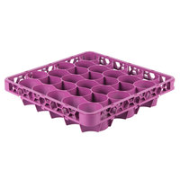 Carlisle REW30LC89 OptiClean NeWave 30 Compartment Lavender Color-Coded Long Glass Rack Extender