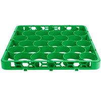 Carlisle REW30SC09 OptiClean NeWave 30 Compartment Color-Coded Glass Rack Divided Extender - Green