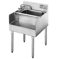 Eagle Group MA7-18 Add On Step Down Sink for 1800 Series Underbar Sinks