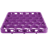 Carlisle REW30SC89 OptiClean NeWave 30 Compartment Color-Coded Glass Rack Divided Extender - Lavender