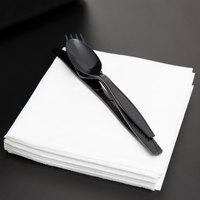 12 inch x 12 inch 1/4 Fold White Premium Luncheon Napkin - 6000/Case