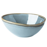 Arcoroc FJ352 Terrastone 35 oz. Blue Porcelain Bowl by Arc Cardinal - 12/Case