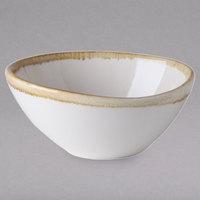 Arcoroc FJ555 Terrastone 5 oz. White Porcelain Bowl by Arc Cardinal - 48/Case