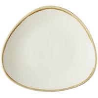 Arcoroc FJ549 Terrastone 8 7/8 inch White Porcelain Plate by Arc Cardinal - 18/Case