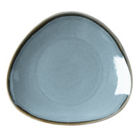 Arcoroc FJ349 Terrastone 8 7/8 inch Blue Porcelain Plate by Arc Cardinal - 18/Case