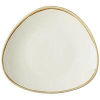 Arcoroc FJ548 Terrastone 11 inch White Porcelain Plate by Arc Cardinal - 12/Case