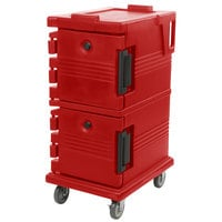 Cambro UPC600158 Hot Red Camcart Ultra Pan Carrier - Front Load