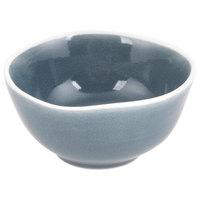Arcoroc FJ730 Canyon Ridge 5.75 oz. Blue Porcelain Bowl by Arc Cardinal - 48/Case
