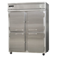 Continental Refrigerator 2RFE-SA-HD 57 inch Solid Half Door Extra-Wide Dual Temperature Reach-In Refrigerator / Freezer - 42 cu. ft.