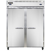 Continental Refrigerator 2RFE 57 inch Solid Door Extra-Wide Dual Temperature Reach-In Refrigerator / Freezer - 42 cu. ft.