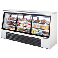 True TSID-96-6 Single Duty Six Door Refrigerated Deli Case - 32 Cu. Ft.