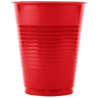 Creative Converting 28103181B 16 oz. Classic Red Plastic Cup - 600/Case