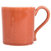 Arc Cardinal Arcoroc FJ633 Canyon Ridge 10.75 oz. Orange Porcelain Mug - 36/Case