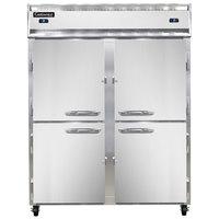 Continental Refrigerator 2RFE-HD 57 inch Half Door Extra-Wide Dual Temperature Reach-In Refrigerator / Freezer - 42 cu. ft.
