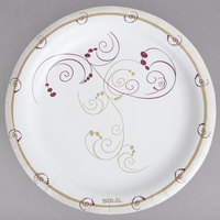 Solo MP9-J8001 Symphony 8 1/2 inch Medium Weight Paper Plate - 125/Pack