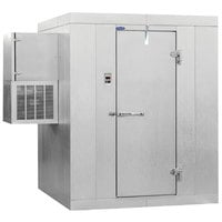 Nor-Lake Kold Locker 6' x 10' x 7' 7 inch Outdoor Walk-In Freezer with Wall Mounted Refrigeration