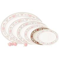 GET M-4050-CG Garden 9 inch x 6 1/2 inch Melamine Oval Platter - 12/Pack