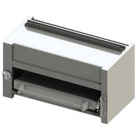 Blodgett BR-B36-RM-NAT Cafe Series Natural Gas 36 inch Range Mount Infrared Salamander Broiler - 35,000 BTU