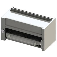 Blodgett BR-B36-WM-NAT Cafe Series Natural Gas 36 inch Wall Mount Infrared Salamander Broiler - 35,000 BTU