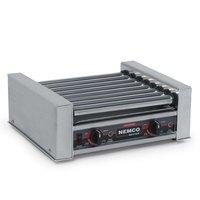 Nemco 8018 Hot Dog Roller Grill - 18 Hot Dog Capacity (120V)