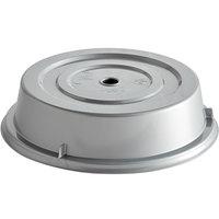 Cambro 1013CW486 Camwear 10 13/16 inch Silver Metallic Camcover Plate Cover - 12/Case