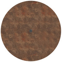 Grosfillex US42FA37 Sunset 42 inch Round Lava Table Top