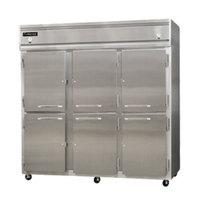 Continental Refrigerator 3RRF-SA-HD 78 inch Half Door Dual Temperature Reach-In Refrigerator / Refrigerator / Freezer - 68 cu. ft.