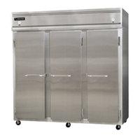 Continental Refrigerator 3RRF-SA 78 inch Solid Door Dual Temperature Reach-In Refrigerator / Refrigerator / Freezer - 68 cu. ft.