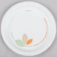 Dart Solo MP6B-J7234 Bare 6 inch Medium Weight Paper Plate - 125/Pack