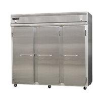 Continental Refrigerator 3RRFE-SA 85 1/2 inch Solid Door Extra-Wide Dual Temperature Reach-In Refrigerator / Refrigerator / Freezer - 71 cu. ft.