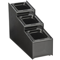 Vollrath CTCPAN3-6 3 Tier 3 Pan Condiment Organizer
