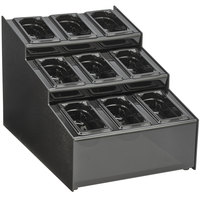 Vollrath CTCPAN9-9 3 Tier 9 Pan Condiment Organizer